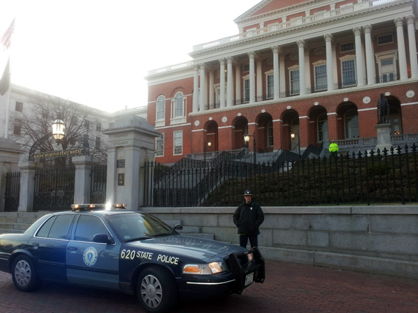 Massachusetts State House, Boston.