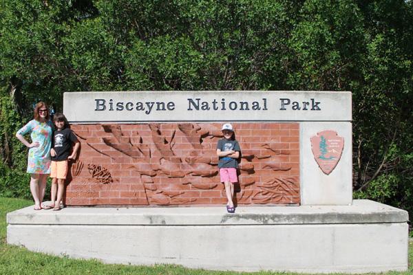Biscayne National Park.