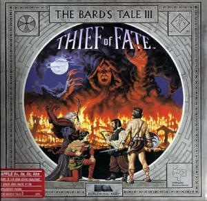 Bard's Tale III cover.