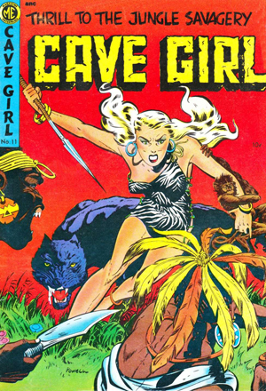 Cave Girl, issue 11, 1953.